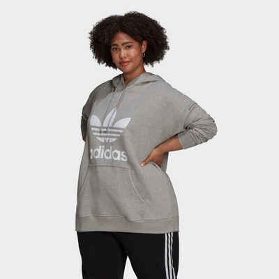 adidas Originals Sweatjacke »Trefoil Hoodie – Große Größen«