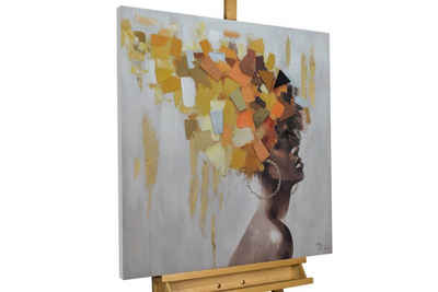KUNSTLOFT Gemälde »Goddess of Fall«, handgemaltes Bild auf Leinwand