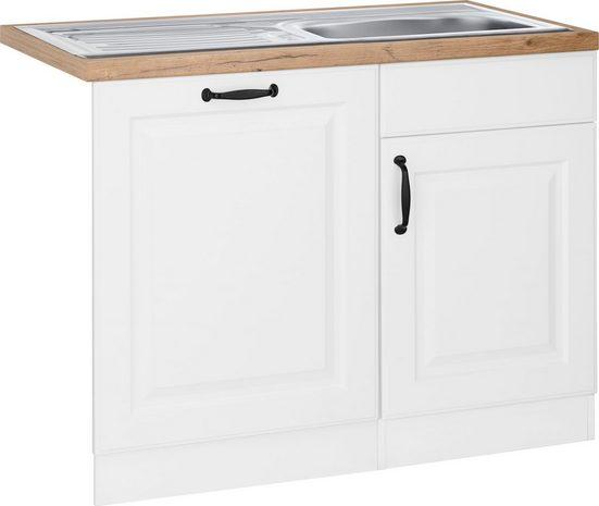 wiho Küchen Spülenschrank »Erla« 110 cm breit, inkl. Tür/Sockel für Geschirrspüler
