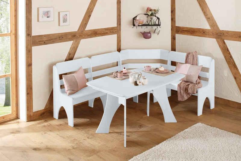 Home affaire Sitzgruppe »Torben«, (2-tlg), im Landhausstil