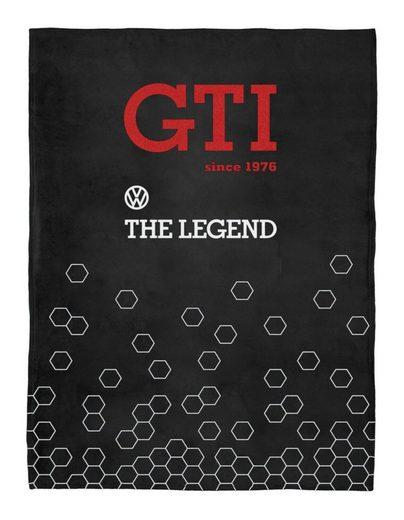 Wohndecke »Golf GTI«, VW Collection by BRISA, sehr weich und kuschelig