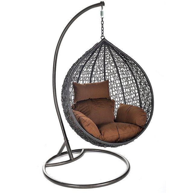 Empfehlung: Rattan-Hängesessel Cielo für drinnen und draußen  von HOME DELUXE*