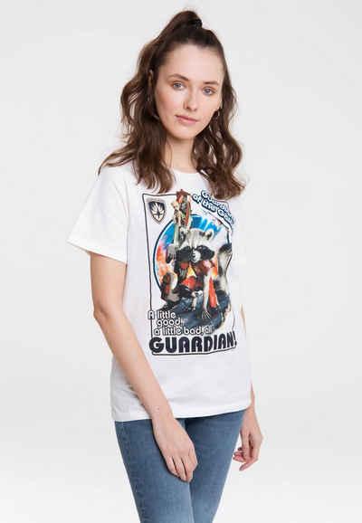 LOGOSHIRT T-Shirt »Marvel Comics« mit Guardians Of The Galaxy-Print