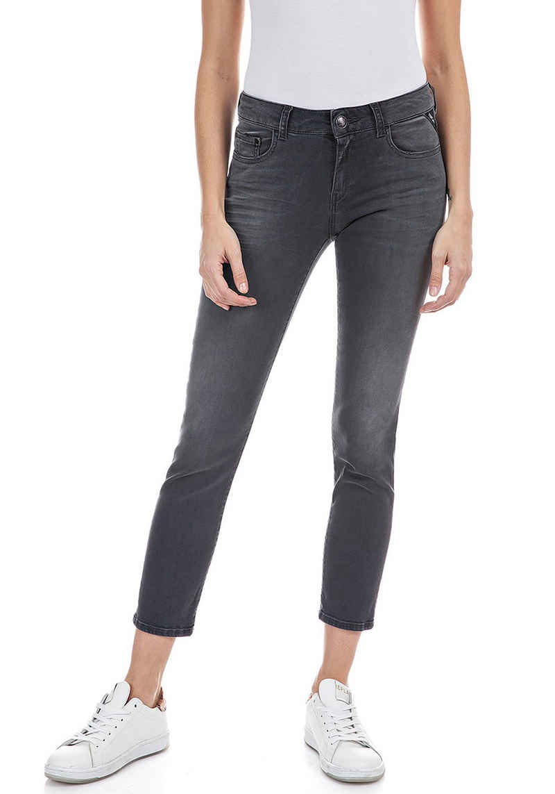 Replay Skinny-fit-Jeans »Faaby« Powerstretch - Five-Pocket-Style
