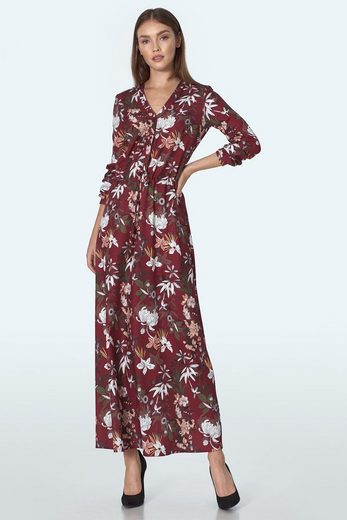 nife Jerseykleid »S155« mit femininem Blütenprint
