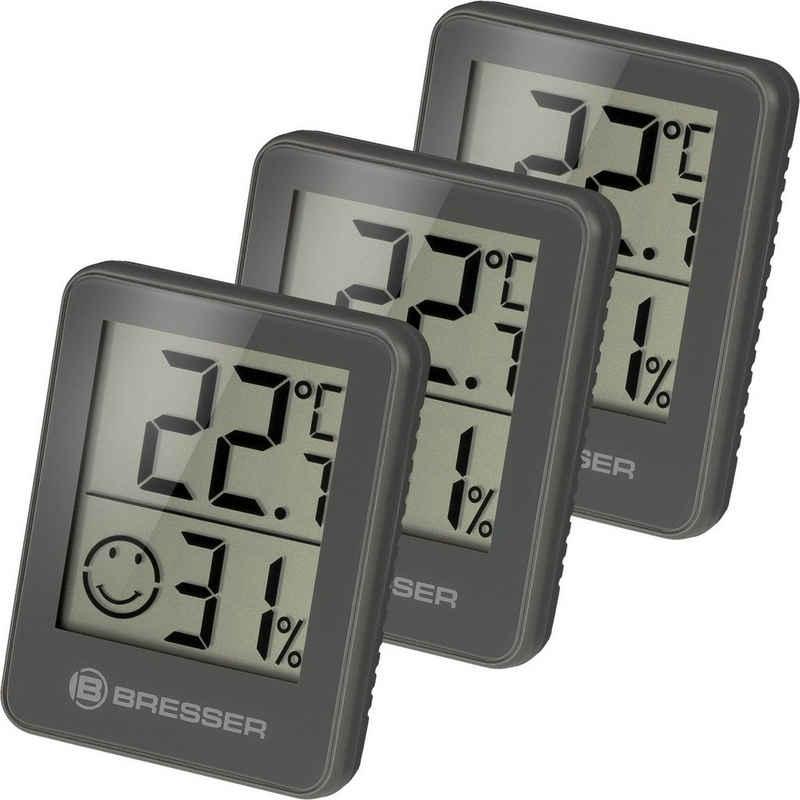 BRESSER Thermometer »Temeo Hygro 3er Set Thermometer Hygrometer«