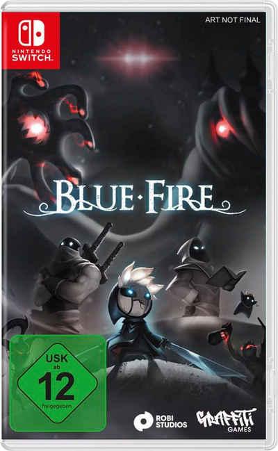 Blue Fire Nintendo Switch