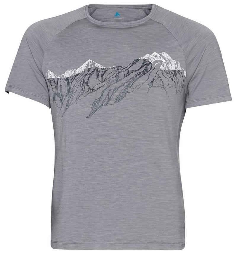 Odlo Funktionsshirt »Concord Summit Print T-shirt« (1-tlg)