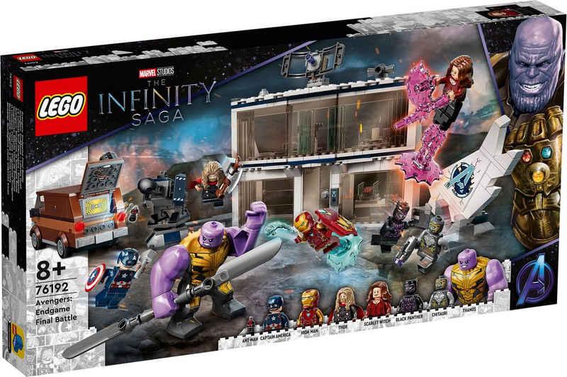LEGO® Konstruktionsspielsteine »Avengers: Endgame – Letztes Duell (76192), Marvel Avengers Movie 4«, (527 St), Made in Europe