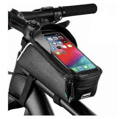 ROCKBROS Fahrradtasche »Fahrrad Rahmentasche XL Fahrradtasche Oberrohrtasche für 6,5'' Handys + Regenschutz«