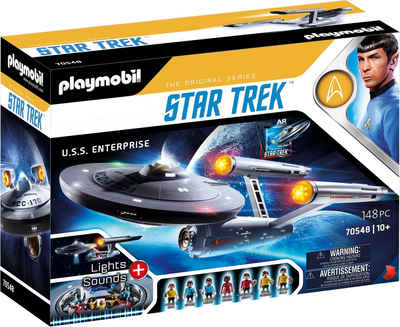 Playmobil® Konstruktions-Spielset »Star Trek - U.S.S. Enterprise NCC-1701«, (148 St), Made in Europe