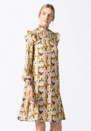 HALLHUBER A-Linien-Kleid »mit floralem Aquarelldruck«