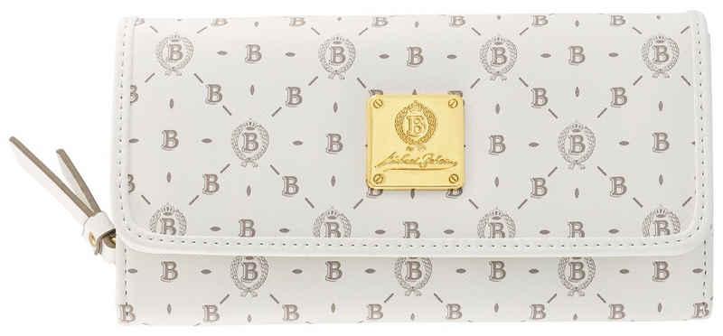 Michael Beheim Geldbörse, mit Logo Allover Druck und markanter Logo Plakette