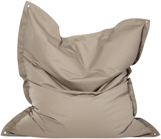 OUTBAG Meadow Outdoor-Kissen Sitzsack plus mud (taupe)