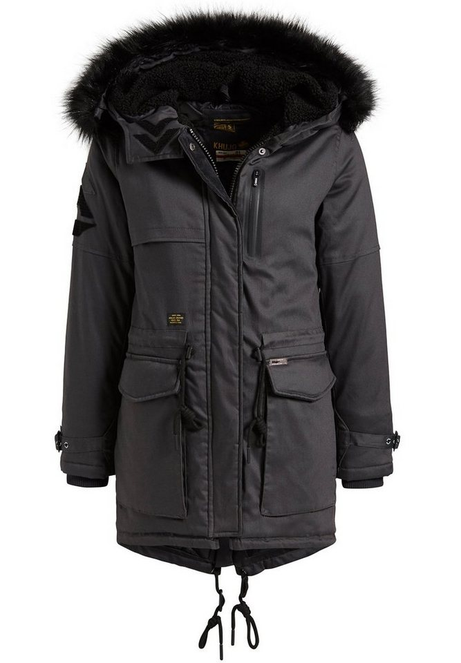 khujo -  Wintermantel »ROSEMARIE« mit großen Taschen