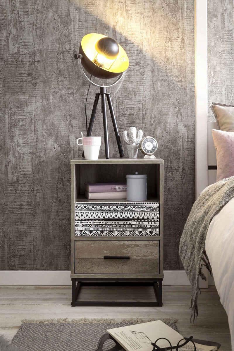 SIT Nachtkommode »Skandi«, mit dekorativem Muster