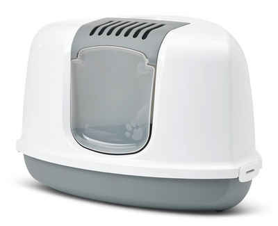 PETGARD Katzentoilette »Katzentoilette NESTOR CORNER«, Eck-Toilette inkl. Aktivkohlefilter passt in jede Ecke