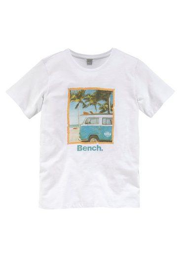 Bench. T-Shirt »Strand und Palmen«