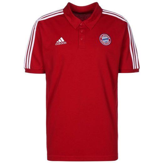 adidas Performance Poloshirt »Fc Bayern München 3-Streifen«