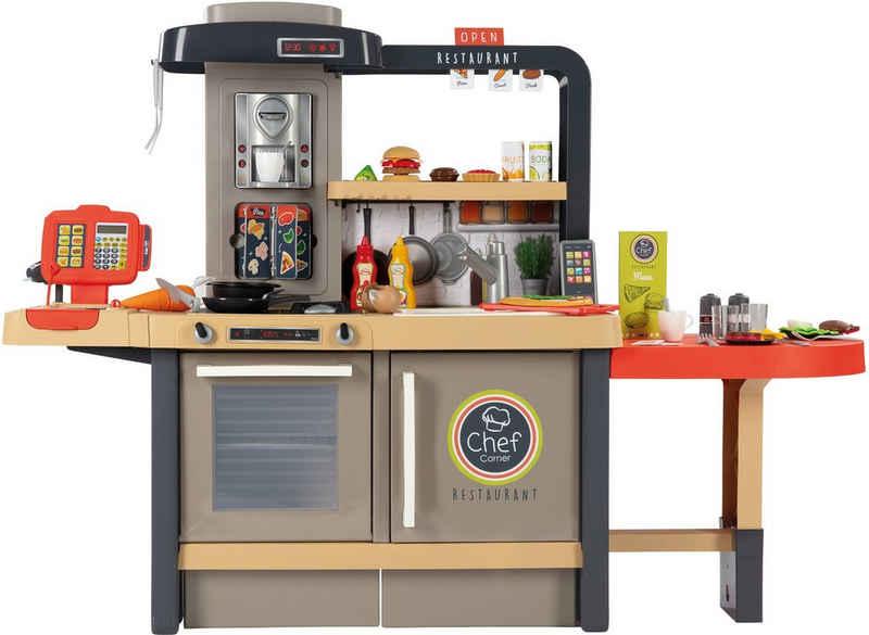 Smoby Spielküche »Chef Corner Restaurant« Kunststoff, Made in Europe