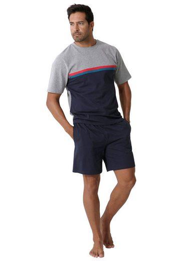 le jogger® Shorty mit Colorblock