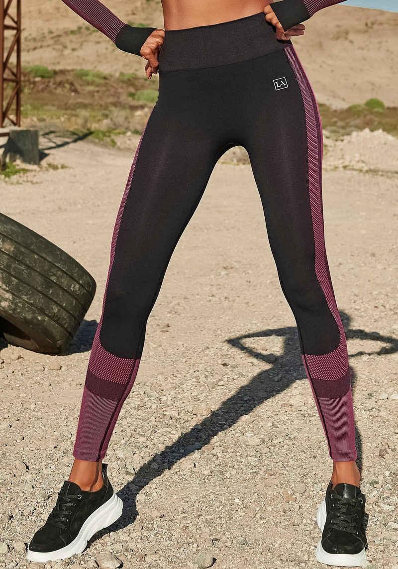 LASCANA ACTIVE Seamless Leggings ohne störende Nähte