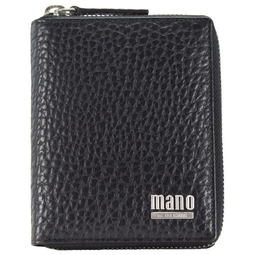 MANO Gaudio Geldbörse Leder 10,5 cm