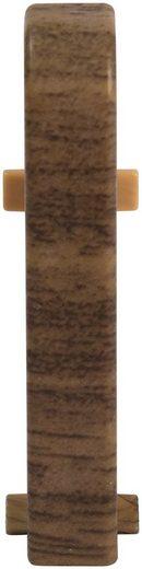EGGER Zwischenstücke »Nußbaum braun«, für 6 cm EGGER Sockelleiste