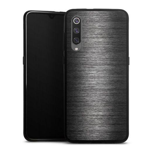 DeinDesign Handyhülle »Metal Look - Anthrazit« Xiaomi Mi 9, Hülle Metallic Look Metall Thermomixmotive
