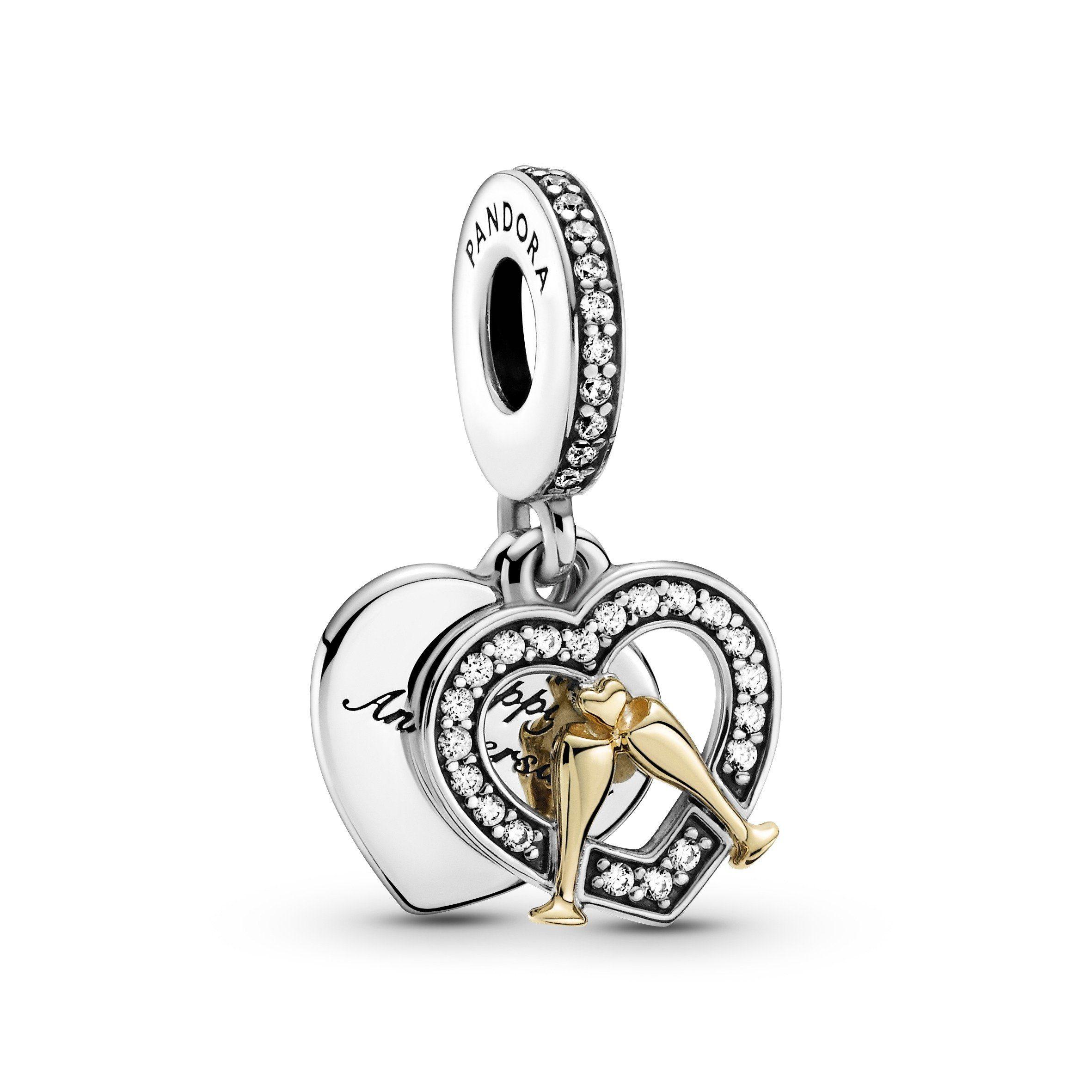 Pandora Kettenanhänger »Pandora Anhänger Silber mit 585/-Gelbgold« online  kaufen | OTTO
