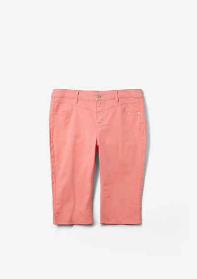 TRIANGLE Shorts »Slim Fit: Twill-Bermuda« (1-tlg)