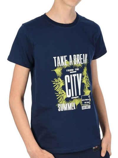 BEZLIT T-Shirt »Jungen T-Shirt mit Take a break« (1-tlg) T-Shirt