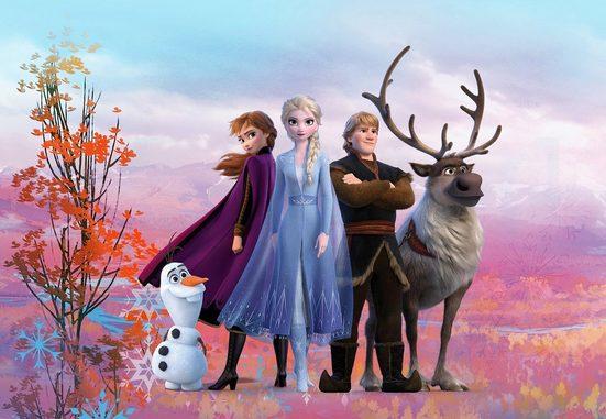 Komar Fototapete »Frozen Iconic«, glatt, Comic, bedruckt, (Packung), ausgezeichnet lichtbeständig