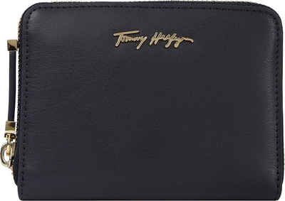 Tommy Hilfiger Geldbörse »ICONIC TOMMY MED ZA«, mit goldfarbenen Details