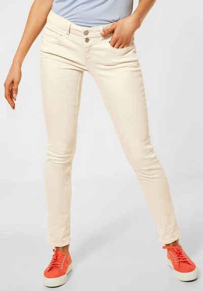 STREET ONE Slim-fit-Jeans »Crissi« mit Passen vorne und hinten