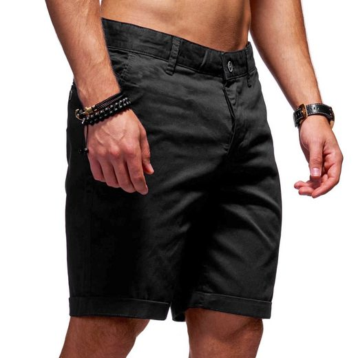 behype Shorts »Smith« im klassischen Regular Fit