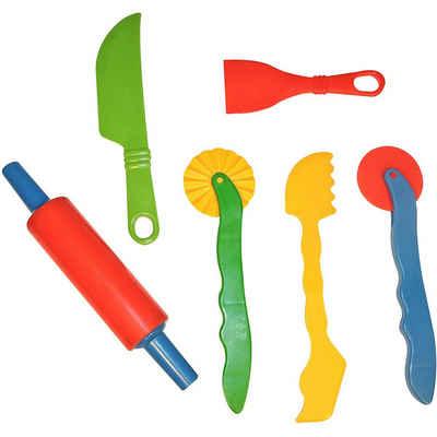 GOWI Knete »Back- und Knetwerkzeug, 6 Teile«
