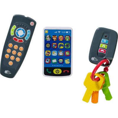 myToys Spieltelefon »3er-Set: Schlüssel, Fernbedienung, Smartphone«