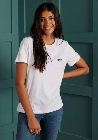 Superdry Marškinėliai »ORANGE LABEL TSHIRT NS« ...