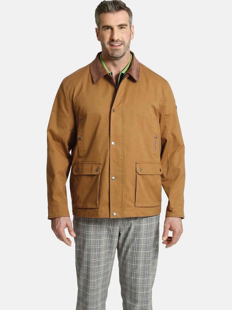 Charles Colby Fieldjacket »SIR HAMILTON« Übergangsjacke, Cord Details