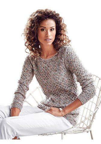 Inspirationen Megztinis apvalia iškirpte »Pullover«