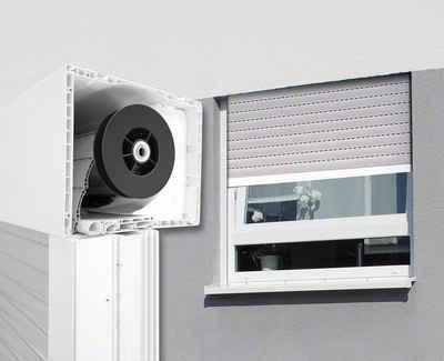 SCHELLENBERG Aufsatzrollladen, Aluminium, für Roro-Fenster