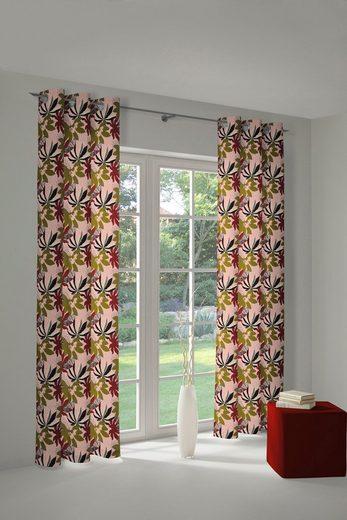 Vorhang »Jungle«, Adam, Ösen (1 Stück), nachhaltig