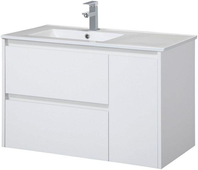 Waschtische - CYGNUS BATH Waschtisch »Jano 850«, Breite 85 cm, Waschmulde links  - Onlineshop OTTO