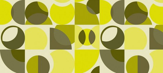 Architects Paper Fototapete »Atelier 47 Circles Artwork 3«, glatt, geometrisch, (6 St)