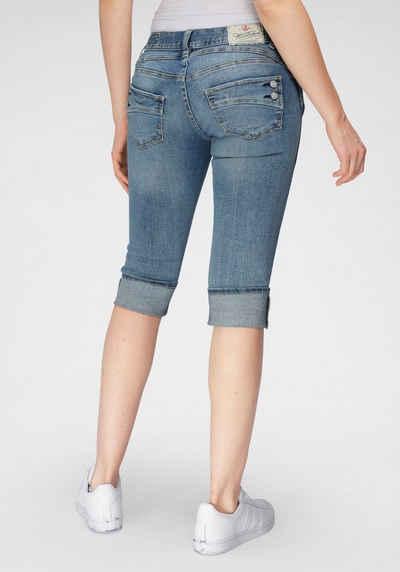 Herrlicher Jeansshorts »PIPER SHORT STRETCH« mit Umschlagsaum