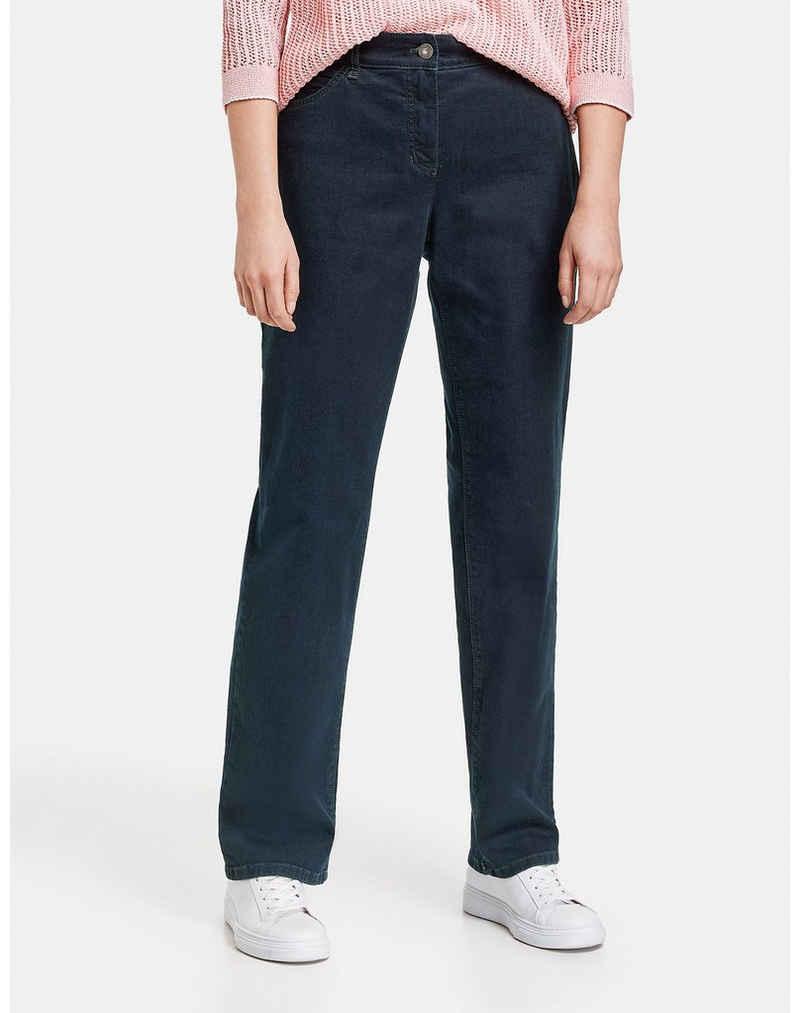 GERRY WEBER Stoffhose »5-Pocket Hose Comfort Fit Kurzgröße« (1-tlg)