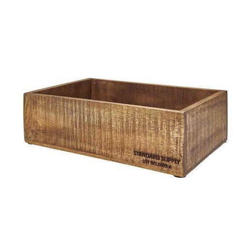 BUTLERS STANDARD SUPPLY »Holzkasten rechteckig Größe M«
