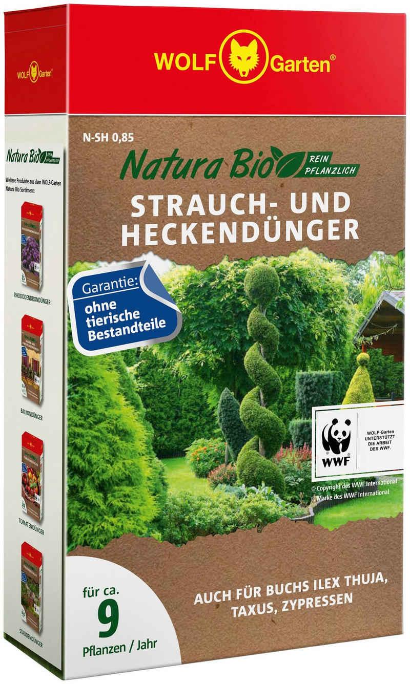 WOLF-Garten Pflanzendünger »N-SH 0,85 NATURA BIO«, Granulat, Strauch- und Heckendünger, 0,85 kg