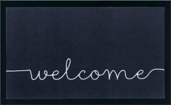 Fußmatte »Cozy Welcome«, HANSE Home, rechteckig, Höhe 5 mm, mit Spruch, In- und Outdoor geeignet, waschbar